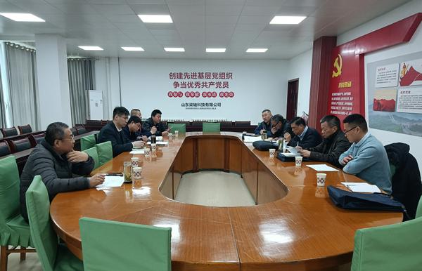 济宁市机械行业协会专家委员会一行赴梁山走访调研